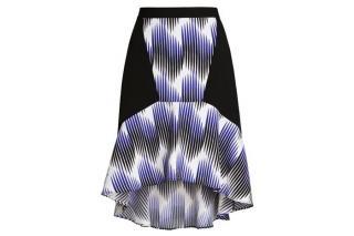 Peter Pilotto Frill Hem skirt