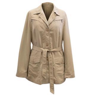 Elena Miro Beige Coat