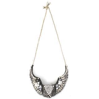 Shourouk Crystal Pyramid Necklace