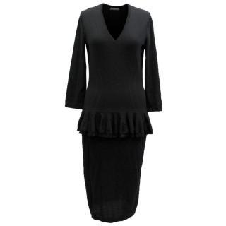 Alexander McQueen Black Dress