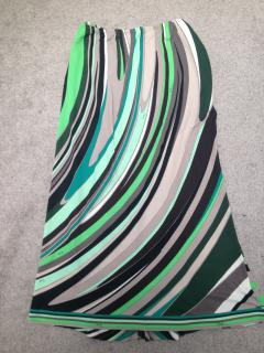 Pucci Green  Midi Pencil Skirt