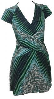 Peter Pilotto Abstract Print Dress.