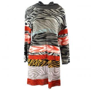 Missoni Multi Coloured Sweater Dress UK 12