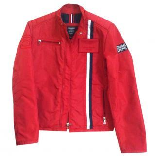Hackett boys red jacket