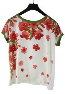 Moncler Printed Silk Top
