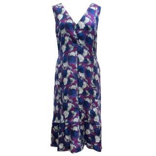 Marni Purple Floral Dress