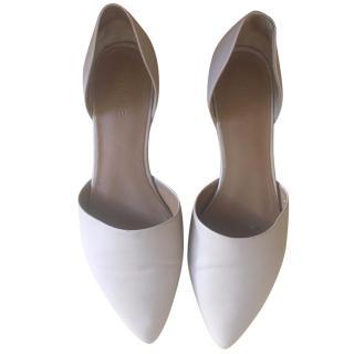 Vince Nude Ballerina Shoes