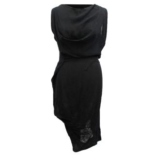 Vivenne Westwood Black Asymmetric Dress