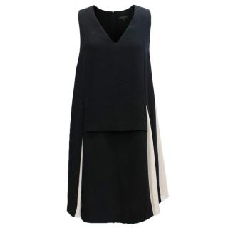 Rag & Bone Black and White Sleeveless Dress