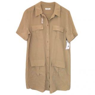 Equipment silk safari dress