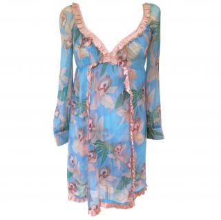 Tracy Feith floral mini dress