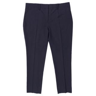 Acne Studios Men's Navy Trousers