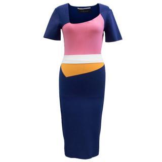 Roland Mouret 'Cassida' Colourblock Dress