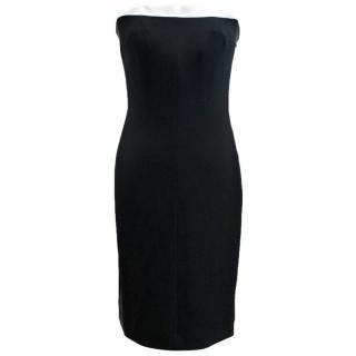 Stella McCartney Azelia black strapless dress