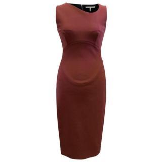 Victoria Beckham Maroon Dress