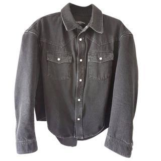 Balenciaga Boxy Denim Shirt SS17