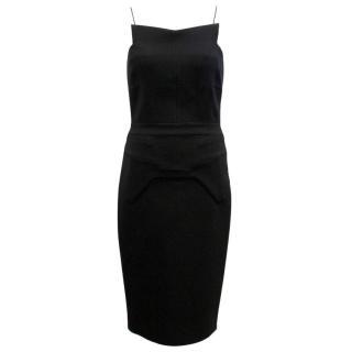 Antonio Berardi Black Midi Dress