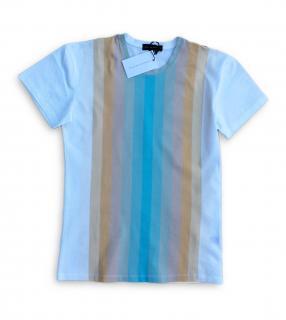 Jonathan Saunders Hugo Digital Stripe T-Shirt
