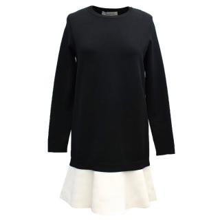 Valentino Black and White Dress