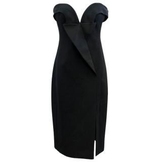 Stella McCartney Black Strapless Deeana Dress