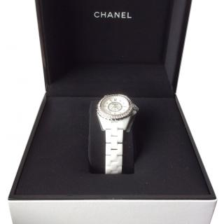 Chanel J12 Ladies Diamond Watch