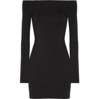The Row Midnight Black Hunting Dress