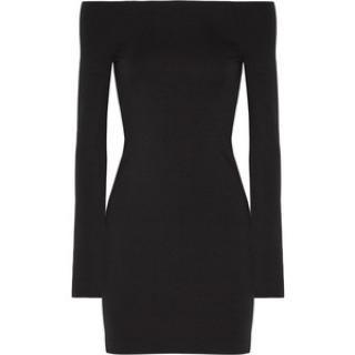 The Row Midnight Black Hunting Dress