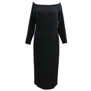 Burberry Prorsum Black Bow Dress