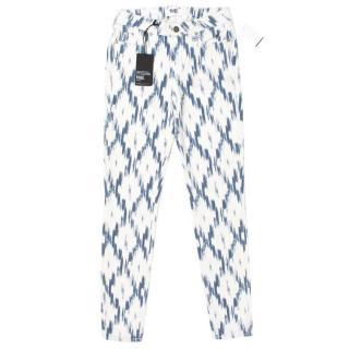 Paige Verdugo Ultra Skinny Pattern Jeans