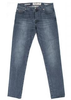Jacob Cohen Men's Mid Wash Jeans