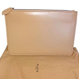 ALAIA Paris Leather Pouch