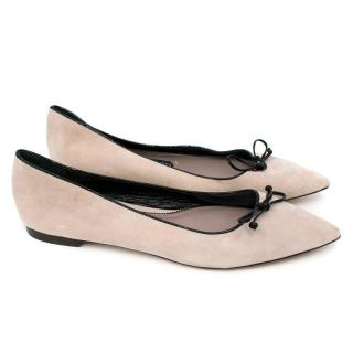 Tom Ford Pink Flats