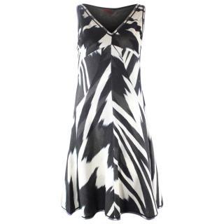 Missoni Black and White Dress UK10