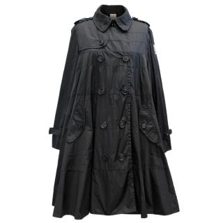 Moncler Black Trench Coat