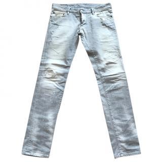 DSquared Men's Grey Jeans