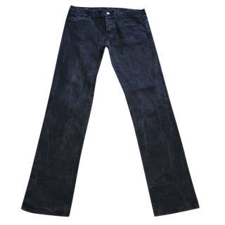 Gucci black skinny men's jeans