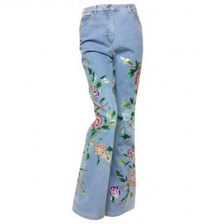 Escada embellished jeans