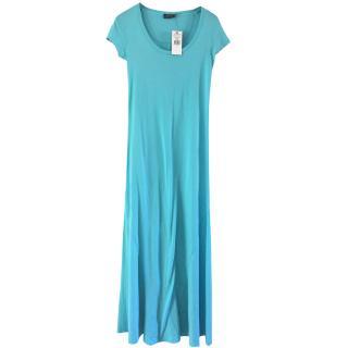 Ralph Lauren turquoise long dress
