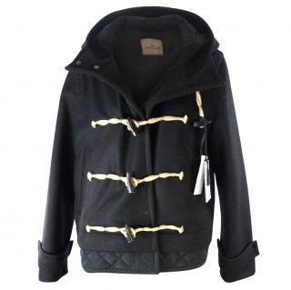 Moncler Premiere, Women's Black Duffle Jacket UK 16