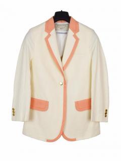 Maison Kitsune cream/nude jacket