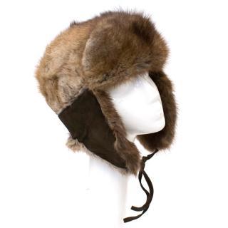 HPI of Sweden Raccoon Fur Snow Hat