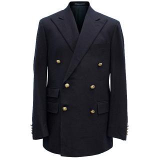 Ralph Lauren Polo Men's Navy Double-Breasted Jacket
