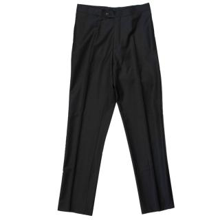 Suitsupply Men's Black Trousers