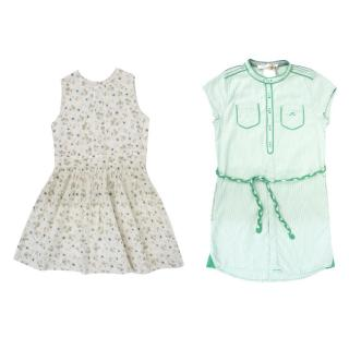 Marie Chantal Floral Dress & Chateau de Sable Dress Set