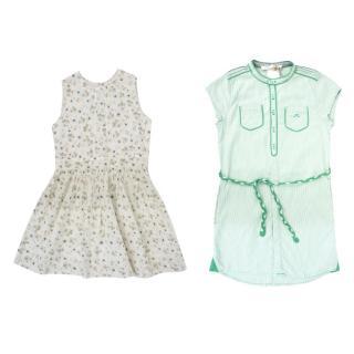 Marie Chantal Floral Dress & Chateau de Sable Dress Set