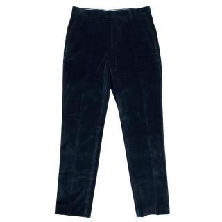 Suitsupply Navy Velvet Trousers