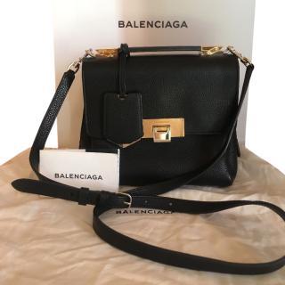 Balenciaga le Dix black shoulder bag