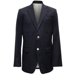 Alain Figaret Men's Navy Blue Blazer