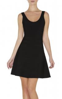 Herve Leger Eva Black dress
