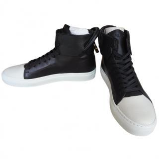Buscemi high top black/white